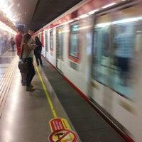 Photo taken at Metro Hernando de Magallanes by Alejandro M. on 4/4/2013