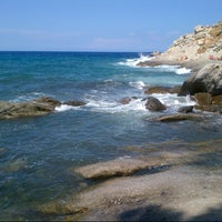 Photo taken at Spiaggia del Cotoncello by Marco B. on 8/25/2013