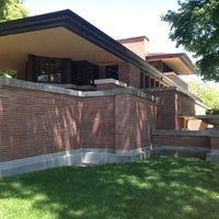 Photo taken at Frank Lloyd Wright Robie House by Steven A. on 5/24/2013