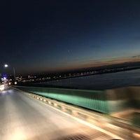 Photo taken at Sault Sainte Marie International Bridge by Nathan S. on 11/7/2016