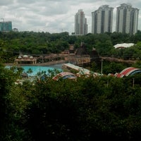 Photo taken at Sunway Lagoon by Lee B. on 3/7/2013