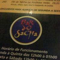 Photo taken at Bar do Sacha by Bruna B. on 10/6/2012