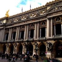 Photo taken at Place de l'Opéra by Nina K. on 4/23/2013