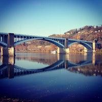 Photo taken at 40th St. Bridge by John J. on 10/26/2012