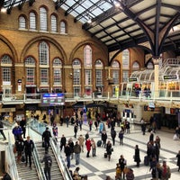 Photo taken at London Liverpool Street Railway Station (LST) by Fabian L. on 3/22/2013