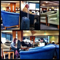 Photo taken at Delta Sky Club by Rebecca M. on 11/2/2012