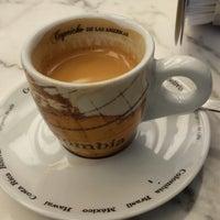 Photo taken at Café Tortoni by Marcelo F. on 2/22/2014