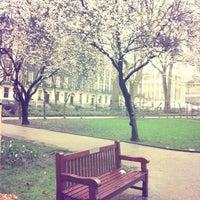 Photo taken at Bloomsbury Square by Alisa &. on 3/14/2013