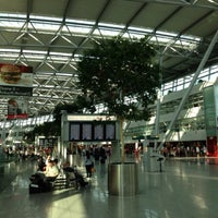Photo taken at Düsseldorf Airport (DUS) by Oleg S. on 6/18/2013