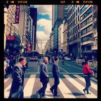Photo taken at Avenida Corrientes by Ricardo P. on 9/25/2012