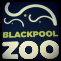 Photo taken at Blackpool Zoo by Lee G. on 9/19/2012