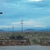 Photo taken at Marfa Mystery Lights Viewing Area by Elizabeth P. on 9/6/2014