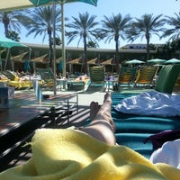 Photo taken at Hotel Valley Ho Pool by Stacy R. on 3/8/2015
