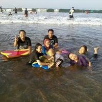 Photo taken at Pantai Pangandaran by bayu k. on 11/17/2012