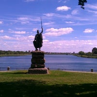 Photo taken at Druid Hill Park by Michael T. on 9/19/2012