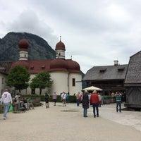 Photo taken at Historische Gaststätte St. Bartholomä by Elina on 7/3/2016