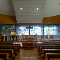 Photo taken at Gereja Santo Alfonsus Rodriguez by Dewi Y. on 11/16/2013