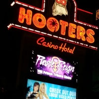Photo taken at Hooters Hotel & Casino by Christopher B. on 12/5/2012
