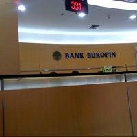 Photo taken at Bank Bukopin by Tika W. on 6/21/2013