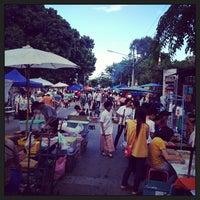 Photo taken at Chiangmai Walking Street by Stephen L. on 6/9/2013