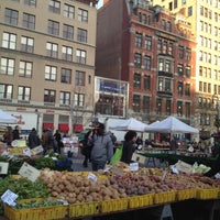 Photo taken at Union Square Greenmarket by Karen H. on 12/3/2012