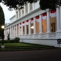 Photo taken at Istana Negara by Aryani K. on 1/16/2013
