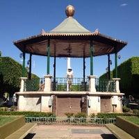 Photo taken at Cueramaro by Alejandra P. on 3/29/2013