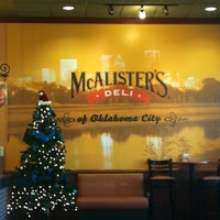 Photo taken at McAlister's Deli by Stetson C. on 12/12/2012