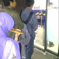 Photo taken at Bank Mandiri by Ǻrdityo Đ. on 5/8/2013
