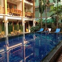 Photo taken at Vieng Mantra Hotel by GermanNYJetsFan on 3/20/2013