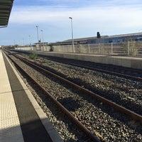 Photo taken at Gare SNCF de Cognac by Tül'in V. on 11/28/2014