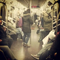 Photo taken at MTA Subway - 7th Ave (B/Q) by Darius A. on 3/24/2013