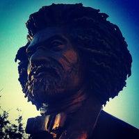 Photo taken at Frederick Douglass Circle by Darius A. on 1/21/2013