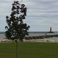 Photo taken at Sheboygan Harbor Center Marina by Amy G. on 9/27/2012