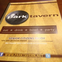 Photo taken at Park Tavern Bowling & Entertainment by Maria H. on 6/9/2013