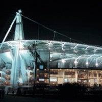 Photo taken at Стадион «Локомотив» by Juliya B. on 11/3/2012