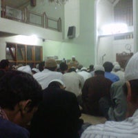 Photo taken at Masjid Abu Dzar Al Ghifari by Andy K. on 2/13/2013