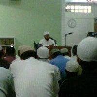 Photo taken at Masjid Abu Dzar Al Ghifari by Andy K. on 2/6/2013