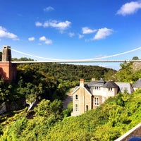 Photo taken at Avon Gorge Hotel by Andrew K. on 9/26/2015