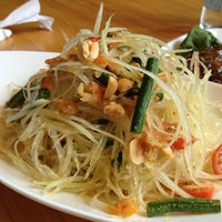 Photo taken at Pure Thai Cookhouse by J C. on 6/29/2013