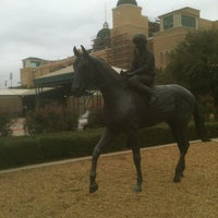 Photo taken at Lone Star Park by Brian D. on 10/6/2012
