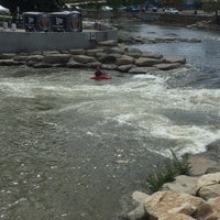 Photo taken at Truckee River by Dave T. on 5/6/2016