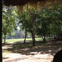Photo taken at Parque Padre Hurtado by Marissa F. on 11/4/2012