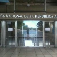 Photo taken at Biblioteca Nacional by Germán S. on 1/19/2013