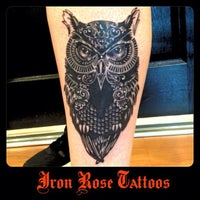 Photo taken at Iron Rose Tattoos by Iron Rose Tattoos on 1/12/2013