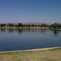 Photo taken at Lake Balboa Park by Shine K. on 9/19/2012