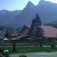 Photo taken at Bușteni by Ambra C. on 6/23/2013