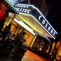 Photo taken at Colony Theater by Geoff V. on 10/30/2012