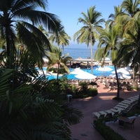Photo taken at Sheraton Buganvilias Resort & Convention Center by Angel R. on 3/21/2013