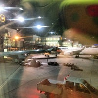 Photo taken at Gate A25 by Martin L. on 4/24/2014